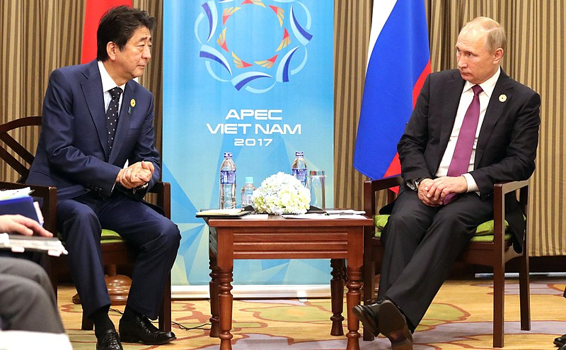 What Would Abe's Peace Treaty With Russia Include?
