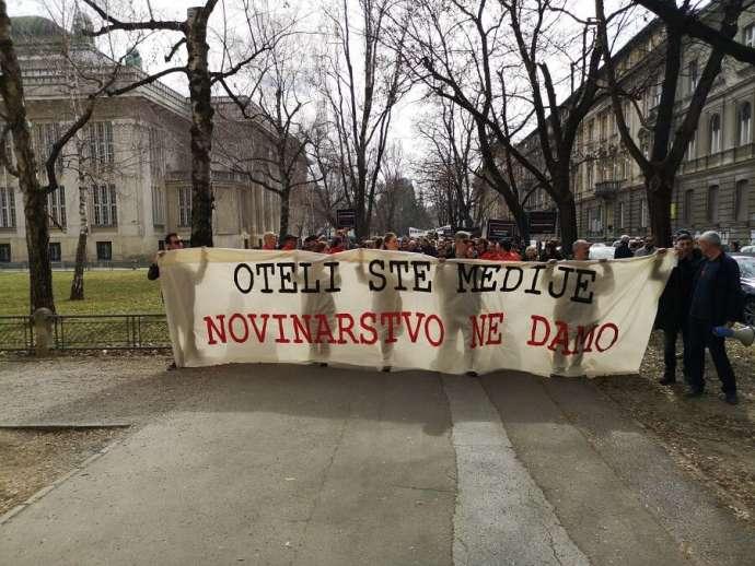 Croatian Journalists Demand More Media Freedom