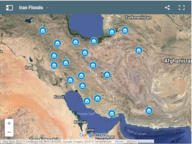 Video: Floodwaters Sweep Into Many Cities And Villages In Iran