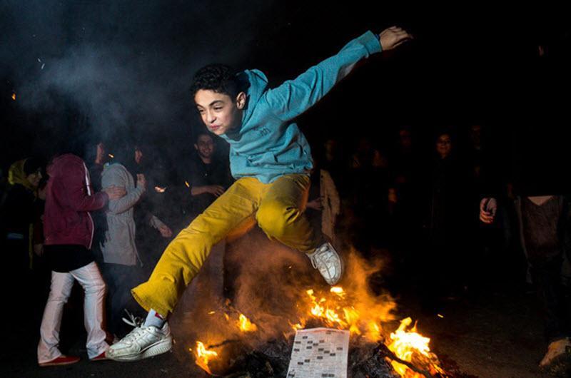 "Iran's New Year Starts With ""Nowruz"" Signifiying Renewal And Rebirth"