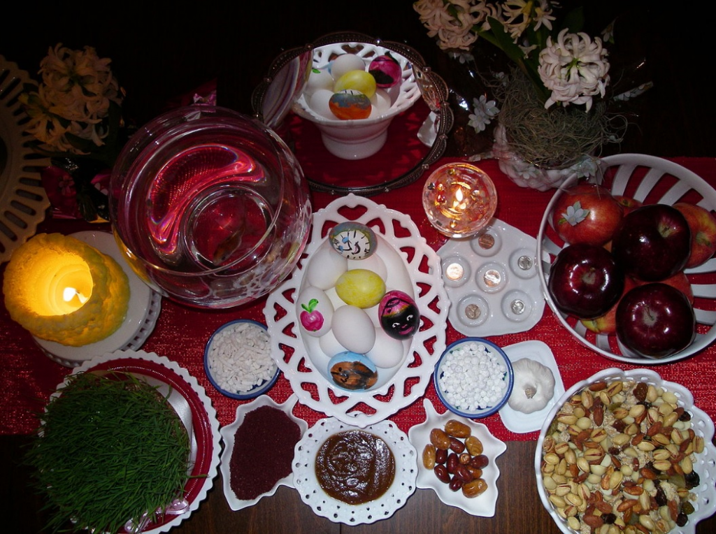"Iran's New Year Starts With ""Nowruz"" Signifiying Renewal And Rebirth"