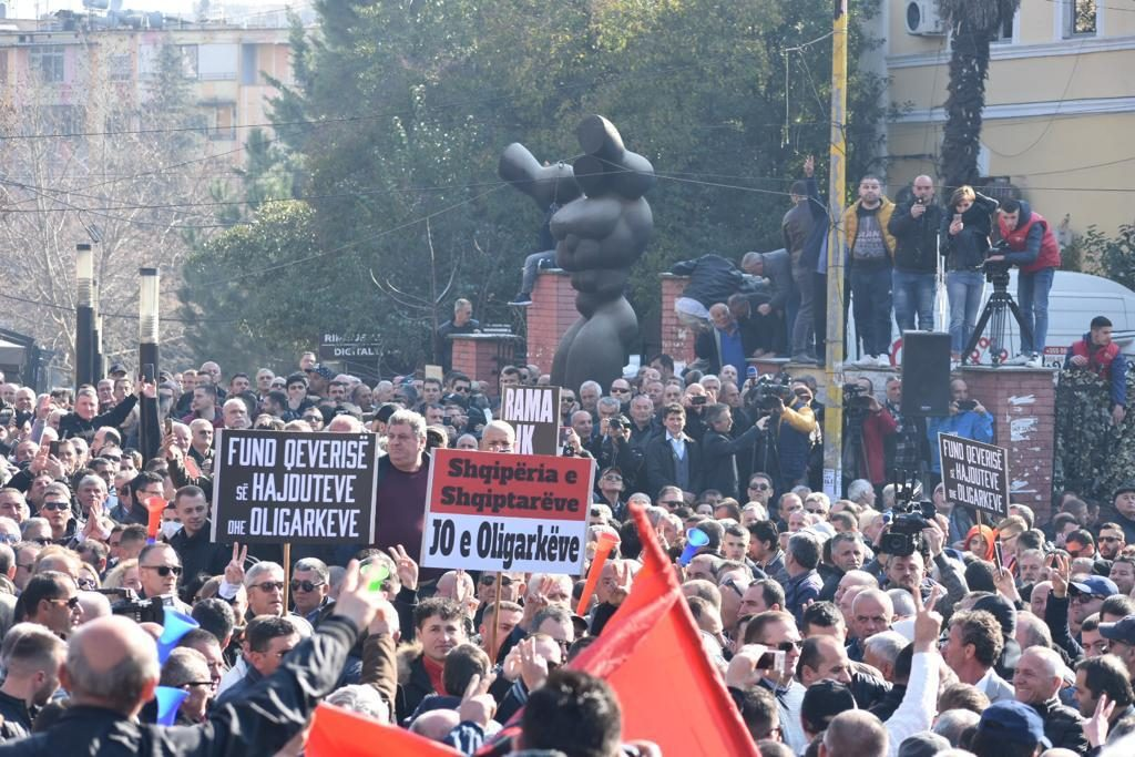 Another Week Of Protests Across The Balkans