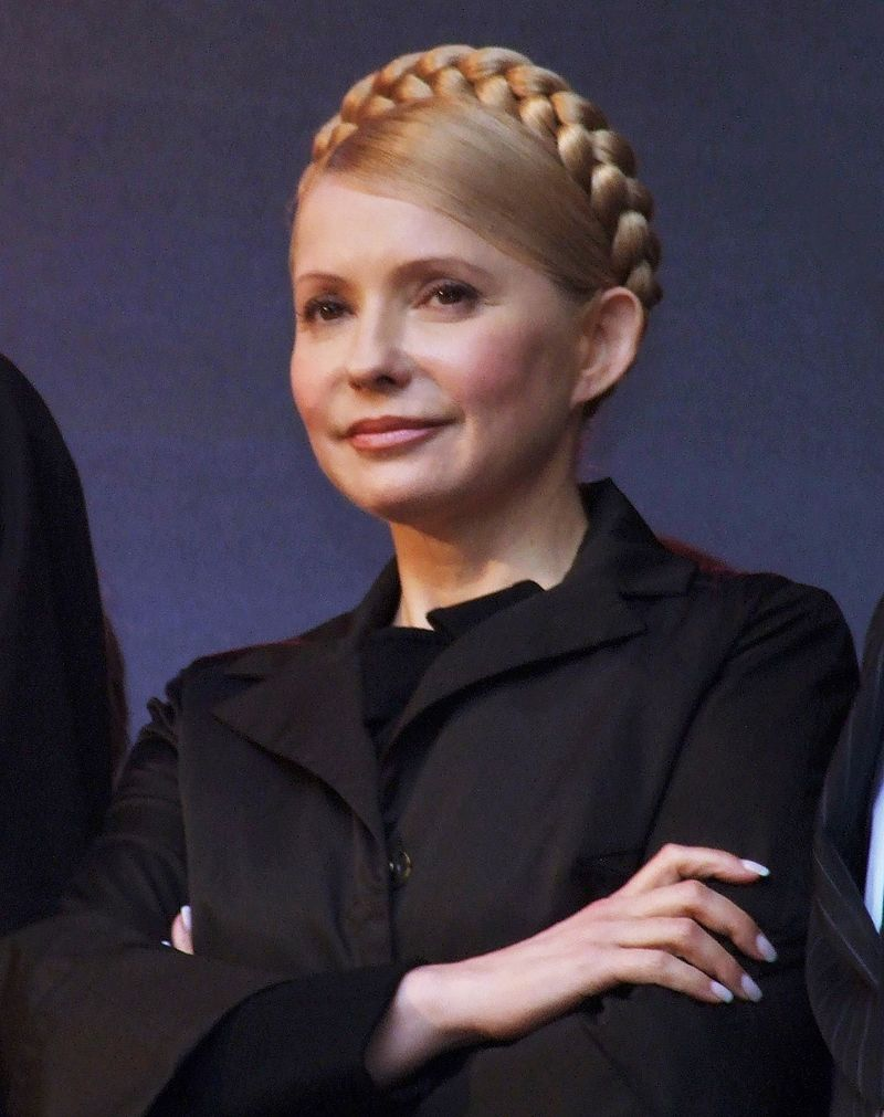 Tymoshenko Pulls Ahead Of Poroshenko In Ukrainian Presidential Election Polls