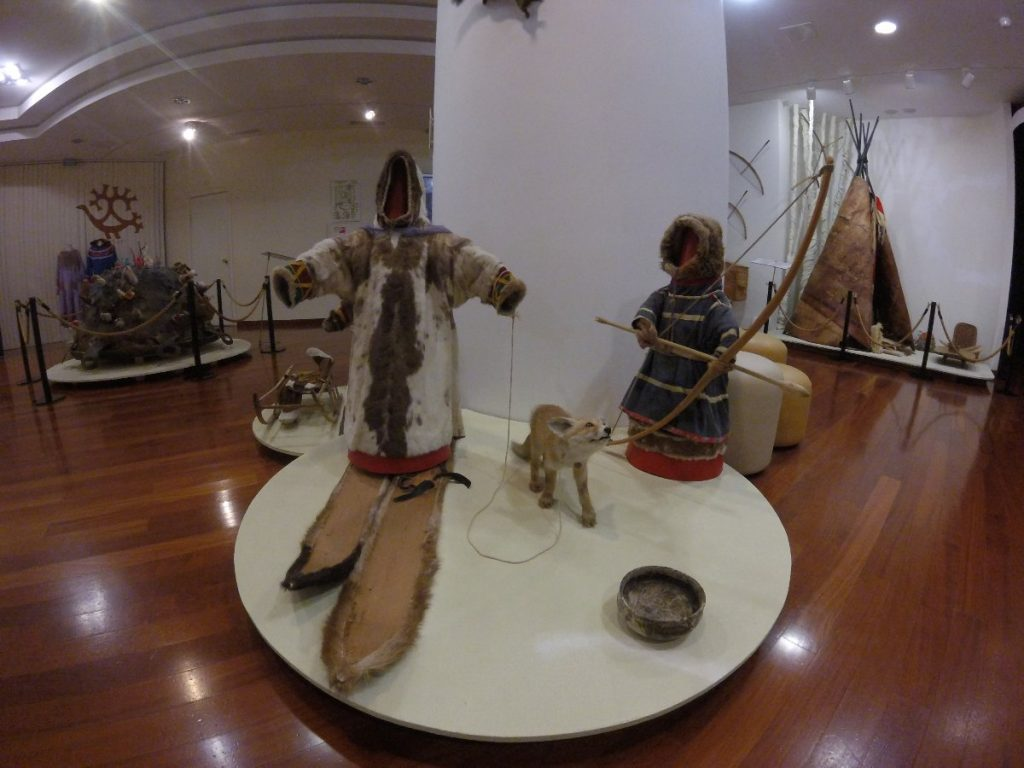 "The St. Petersburg Russian Museum Of Ethnography (Kunstkamera) Hosts An Exhibition ""The Arctic - Inhabited Land"""