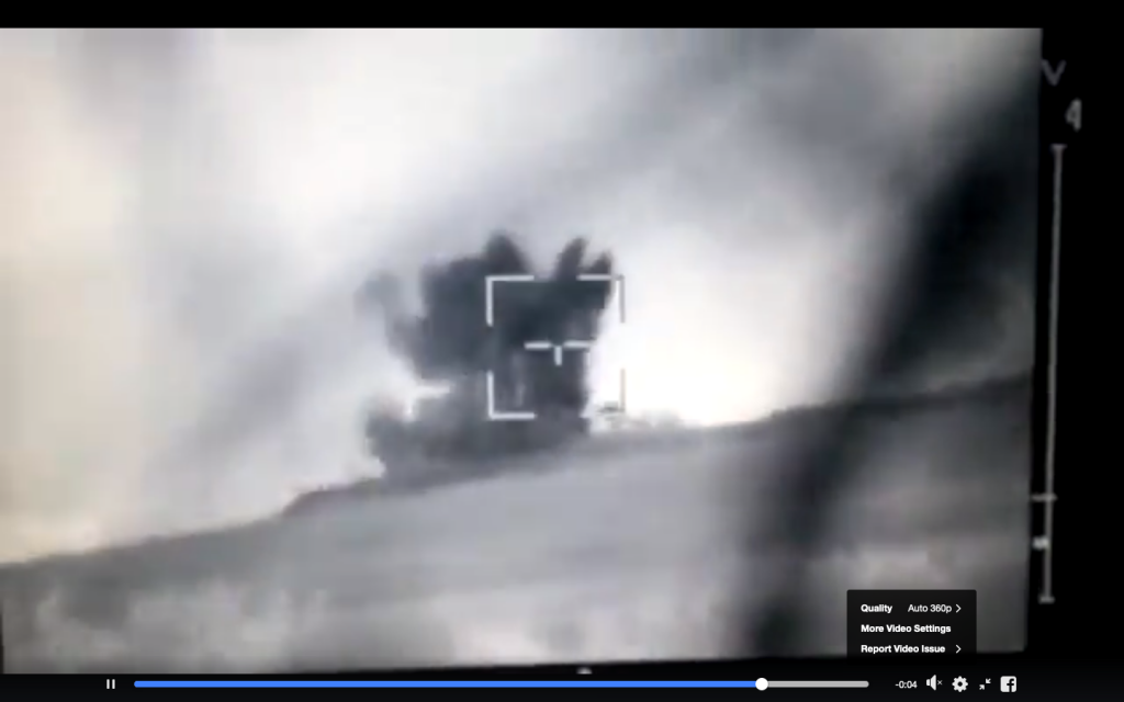 Donbass War Still Hot - Recent Video Of Anti-Tank Missile Used To Destroy Pro-Russian Observation Post