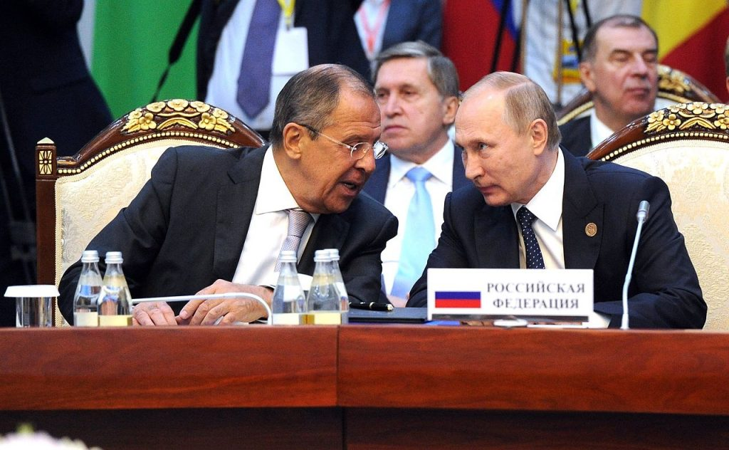 Russia Says 'New World Order' Being Formed
