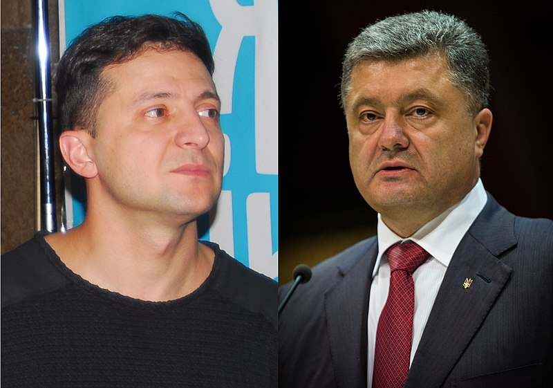 As Ukrainians Go To The Polls, Poroshenko Faces Defeat