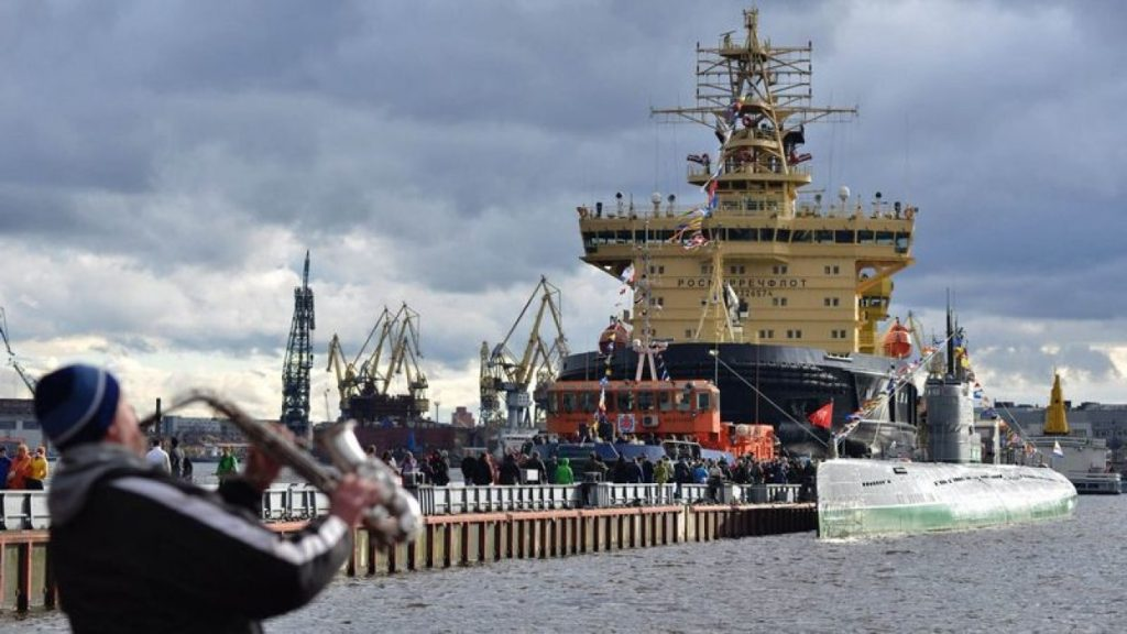 The 6th Festival of Icebreakers Took Place In St. Petersburg