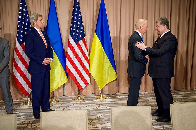 Ukraine Goes After Old Joe