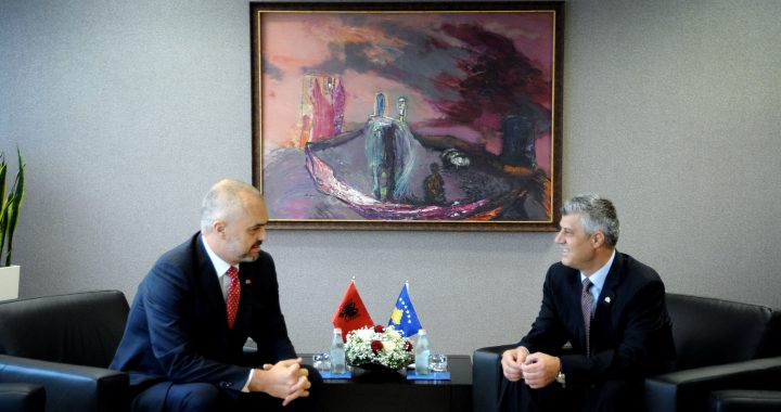 Thaçi And Rama Take Over Plan For Exchange Of Territories Between Kosovo And Serbia After Vučić Gives Up