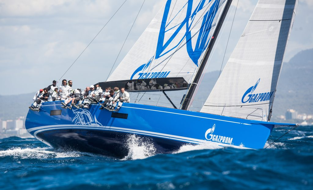 "The Sailing Race ""Nord Stream"" Finished In St. Petersburg"