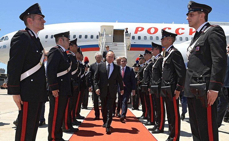 Putin Goes To Italy, Is The Liberal West Dead?
