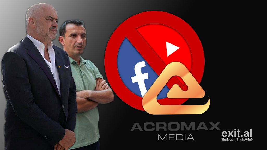 Acromax Media — Albanian Government's Tool for Online Political Censorship