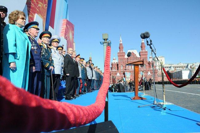 Putin Invites Trump To 2020 Victor Day Celebration In Red Square