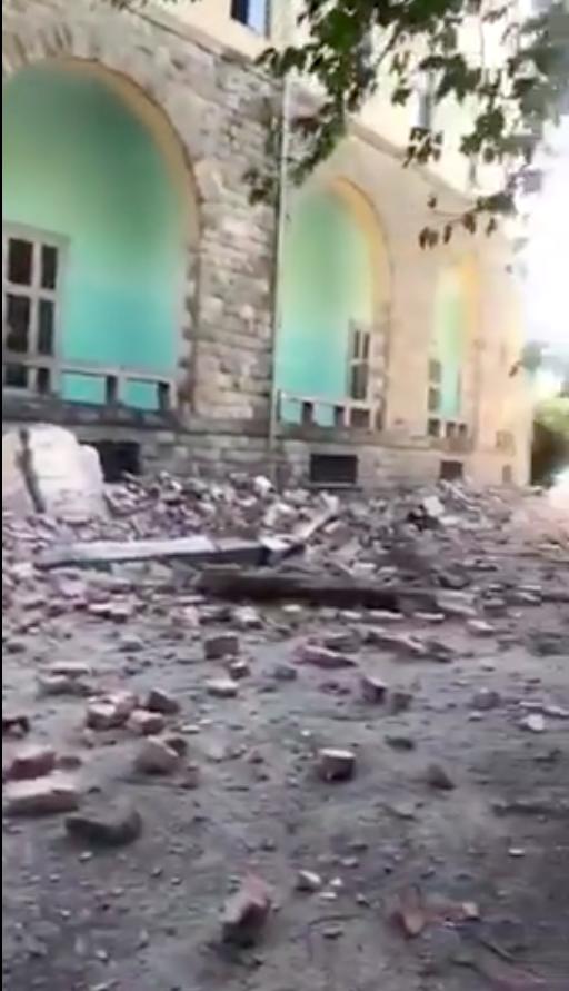 5.6 Magnitude Earthquake In Tirana, Albania, Serious Damage, Some Injuries