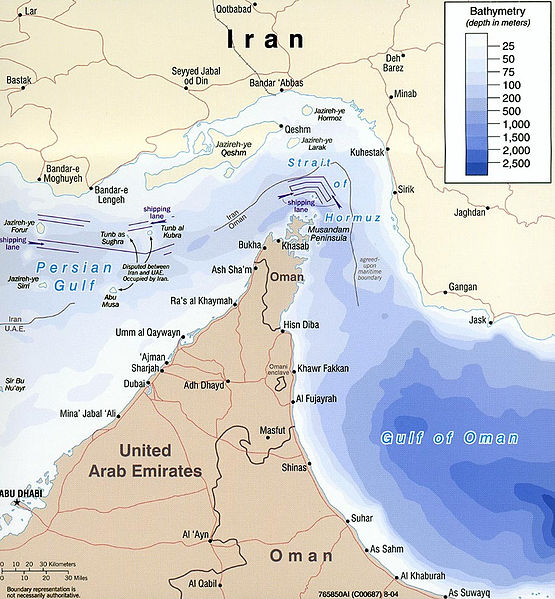 Iran's Hollow Rhetoric Over Strait Of Hormuz Collided With Reality