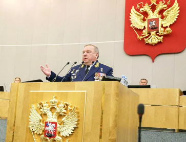Russia's Shamanov Disputes Defense Spending