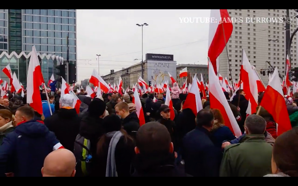 """Europe Is Dying"" - 50,000 Polish 'Patriots' March To Save Country From ""Disastrous European Union"""