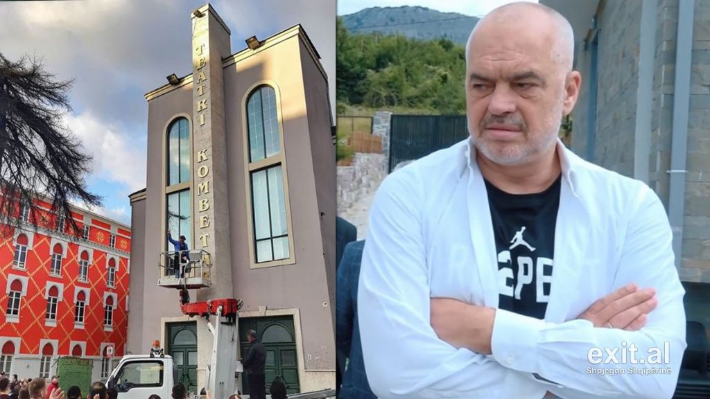 "European Commission: Releasing Albanian National Theater Report Could Cause ""Diplomatic Incident"""
