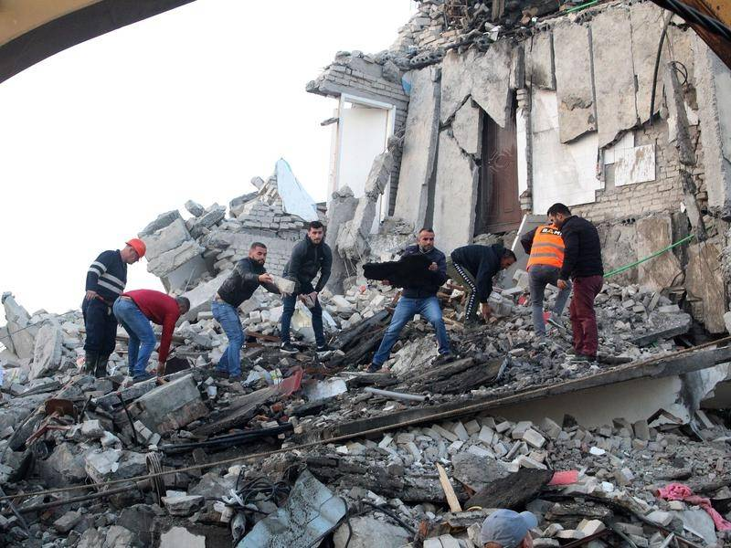 Support Pours In From Across The World During Albanian Earthquake Aftermath