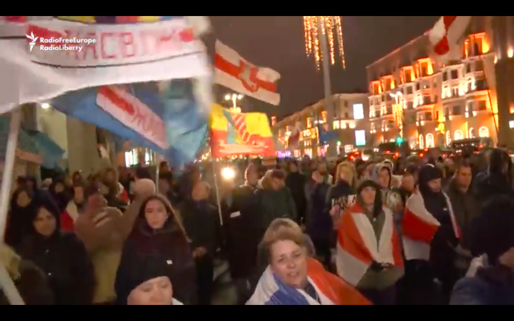 More Protests In Minsk Against Further Integration With Russia