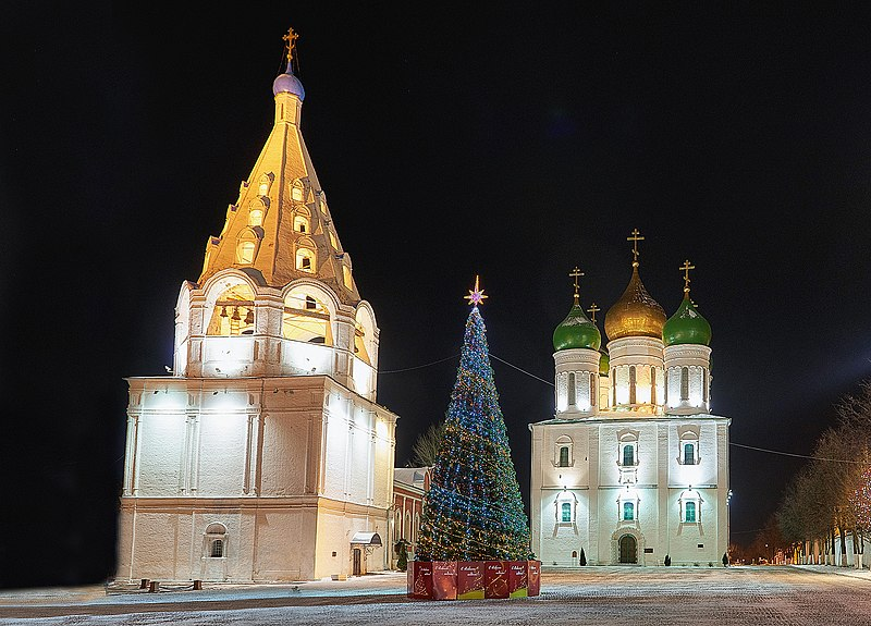 VIDEO: There's Nothing Like Moscow Lit Up For Christmas!