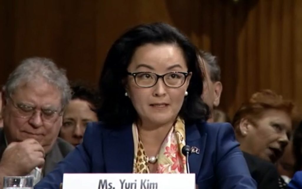 Senate Confirms Yuri Kim As US Ambassador To Albania