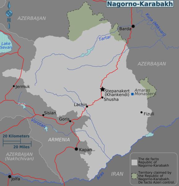Russian Foreign Minister, Azerbaijani President Discuss Karabakh Settlement