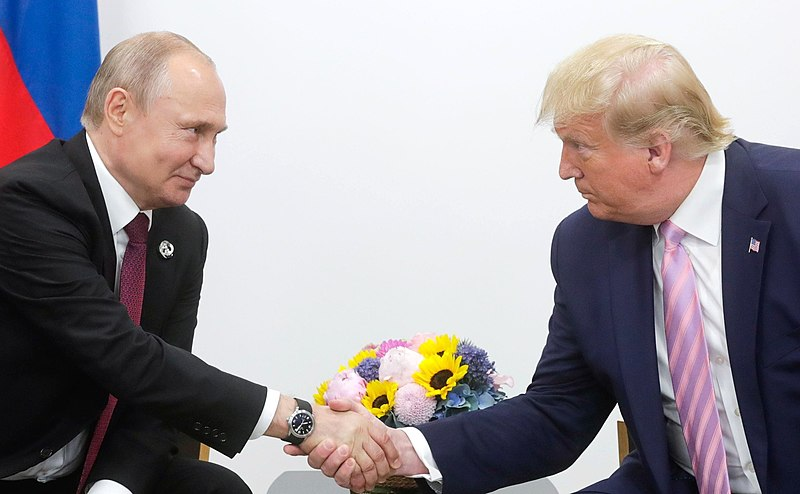 Putin Thanks Trump For Sharing Intelligence Preventing Terror Attack In Russia