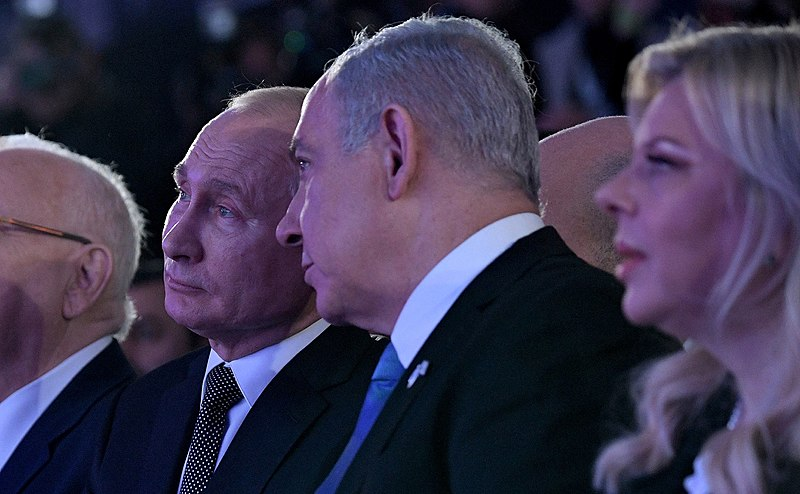 Netanyahu To Meet Putin In Moscow On January 30th To Explain 'Deal Of The Century'