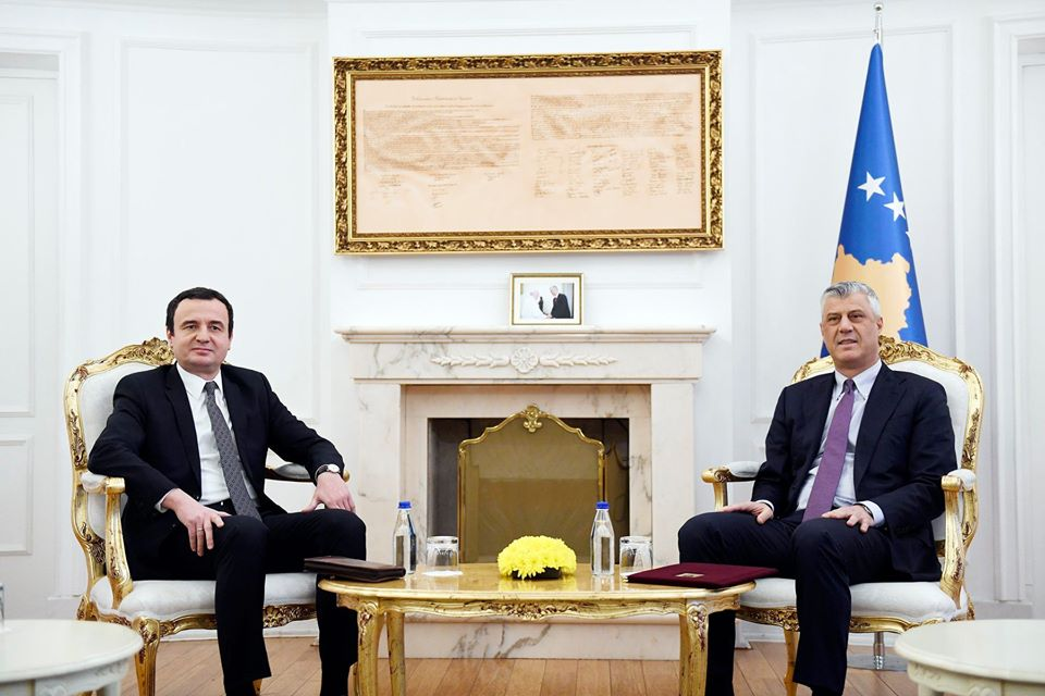 Kosovo's Vetëvendosje Asks President To Stop Pressuring For Creation Of New Government