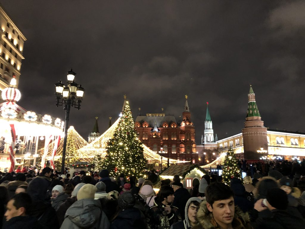 Putin Emphasizes Russian Unity In New Year's Eve Address