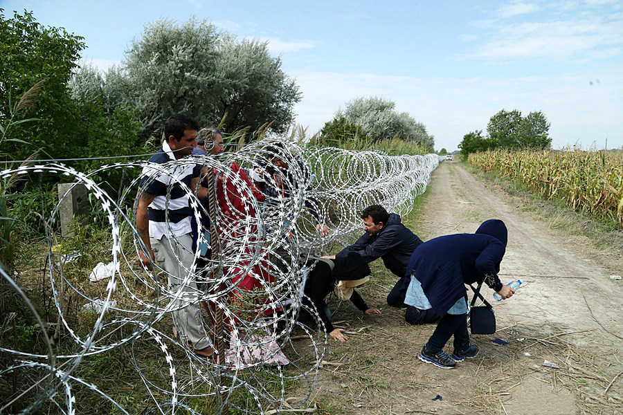 Hungarian Border Guards Fired Warning Shots As 60 Migrants Attempted To Storm Border