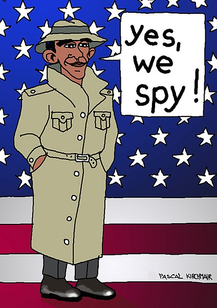 Obama Couldn't Resist Spying Like A Commie
