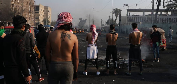 """Iraq's protesters: """"No One Cares About Us But We Continue Our Revolution"""""""