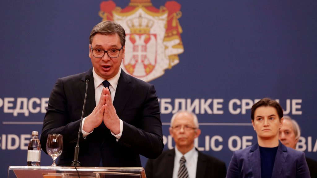 Serbia Declares State Of Emergency, Closes Borders