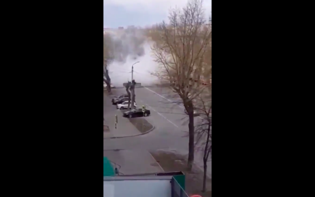 VIDEO:  Have You Ever Been Disinfected Like This?  Russia Gets Real With COVID-19
