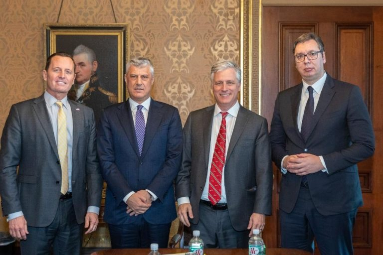 U.S. Envoy Says Presidents Of Serbia And Kosovo Have Not Discussed Land Swap With Him