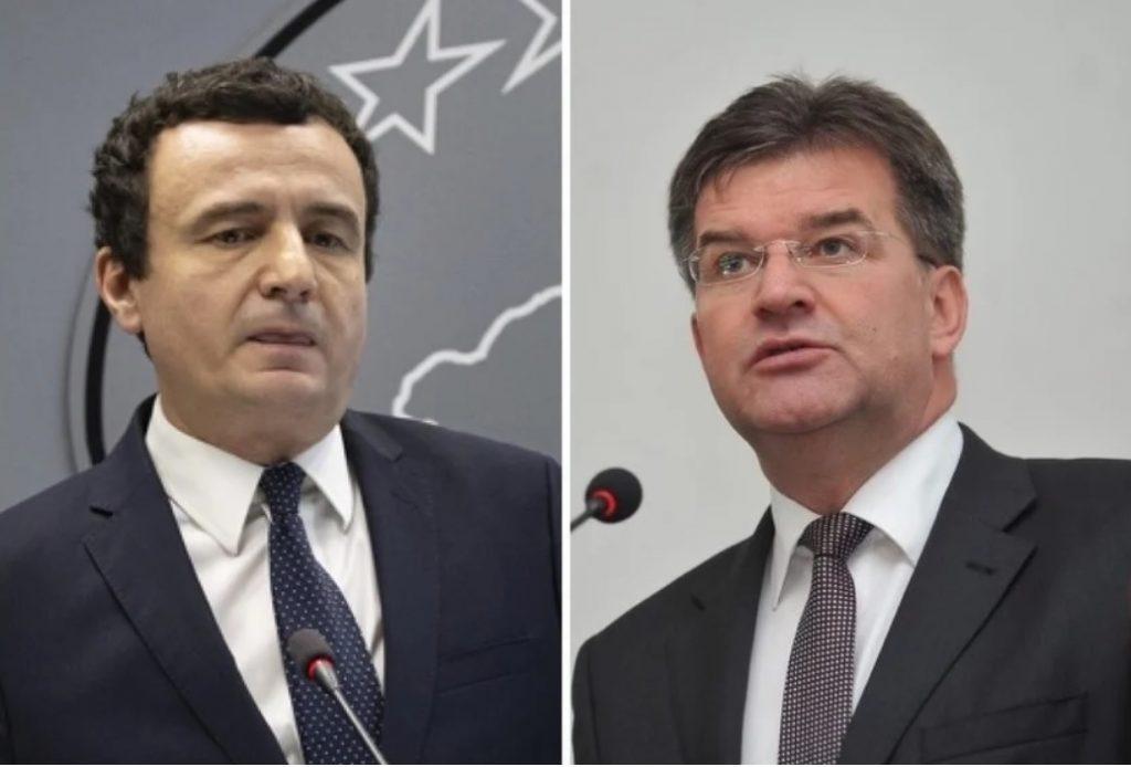 No Negotiations Over Border Changes, Kosovo's Prime Minister Tells EU Envoy