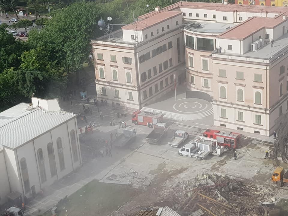 MEP Strugariu: Demolition Of Albania's National Theatre A 'Moral Crime Against World Cultural Heritage