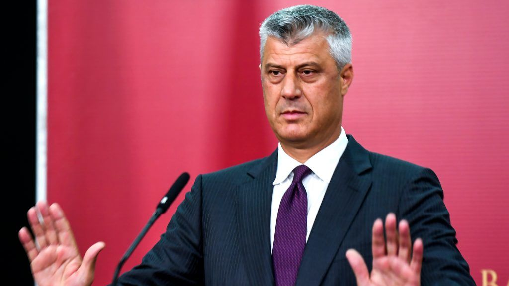 Kosovo President Vows To Resign If Charged On War Crimes