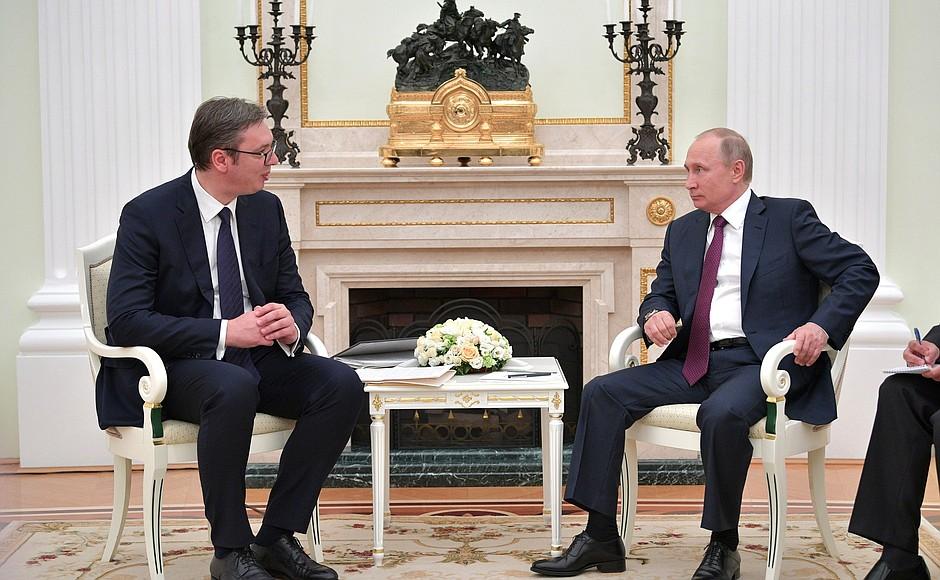 Putin Advises Vučić In Solutions Regarding Kosovo During Moscow Visit