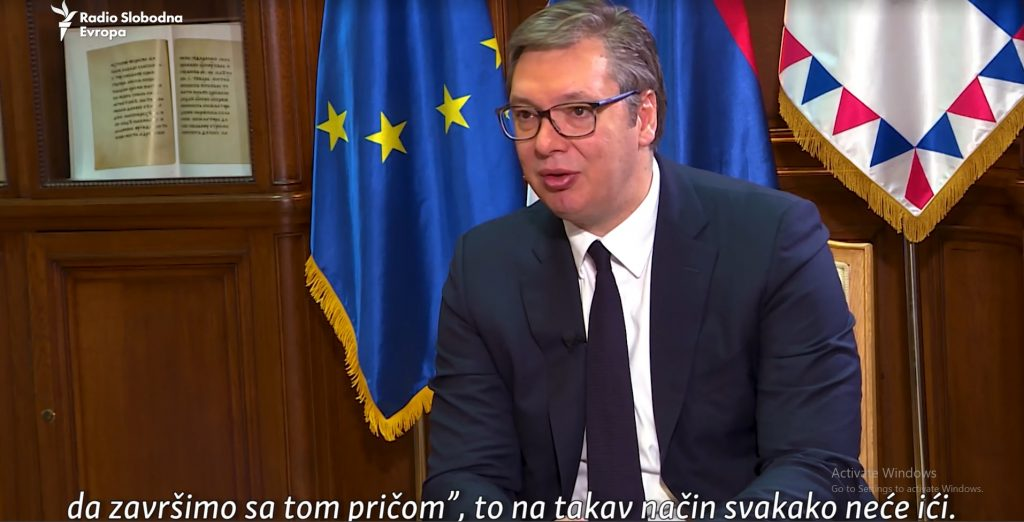 Serbian President Rules Out Kosovo Recognition