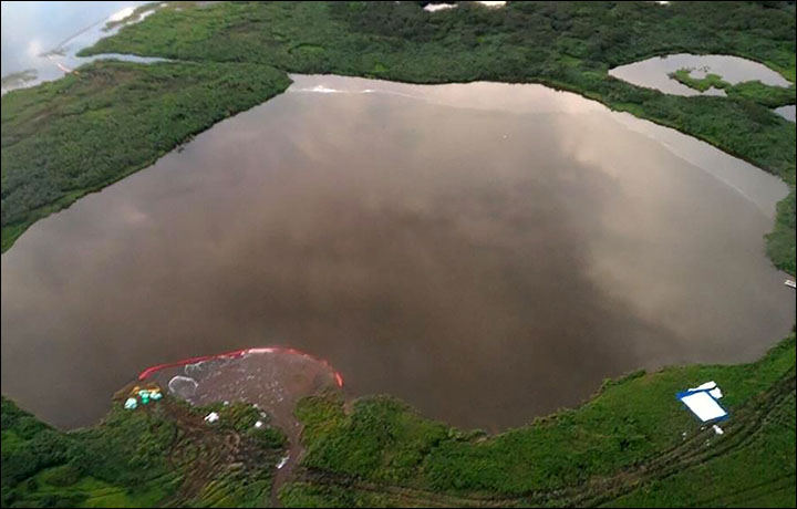 New Spill Of 45 Tons Of Jet Fuel Pollutes Tundra In Taymyr