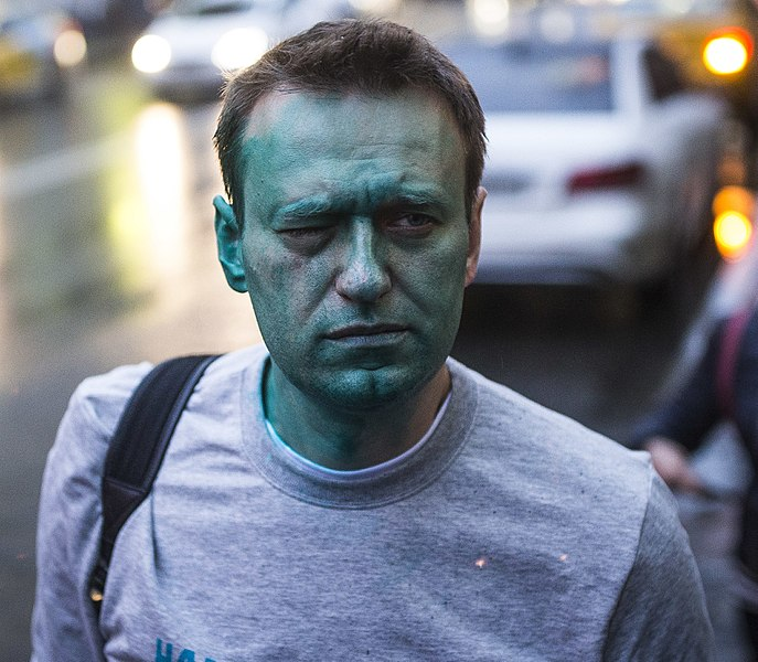 RUSSIAN OPPOSITION LEADER NAVALNY IN COMA...REPORTEDLY POISONED