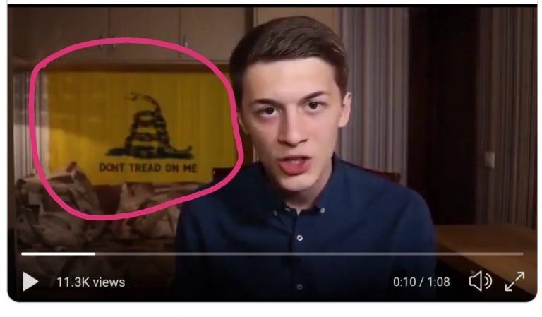 Russian Blogger Who Dared Use 'Don't Tread On Me' Gadsen Flag To Push For Change Horribly Beaten In Russia