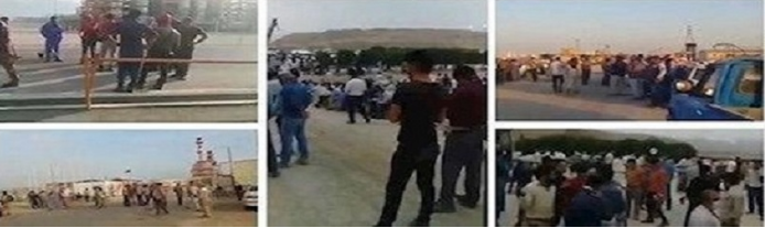 Worker's death triggers oil and gas strike in Iran