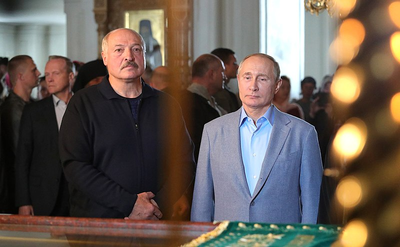 Lukashenko Says Russia Will Help 'Secure Belarus'...Putin Says He's Ready To Help Under Union State Agreement