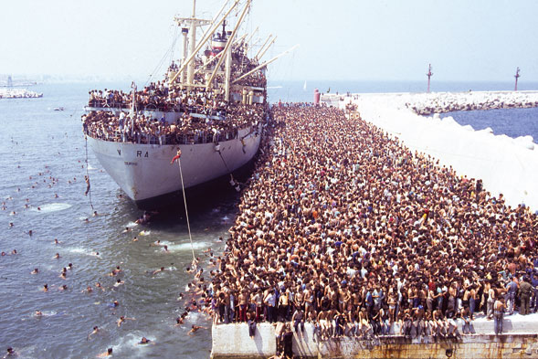 19 Years Since Albanians Stormed Ship In Vlora, Bound For Bari