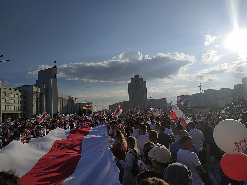 How Mass Protests Are Held In Belarus
